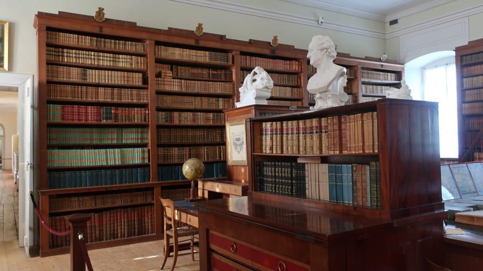 Knihovna,  zámek Kynžvart,  foto: Martina Schneibergová