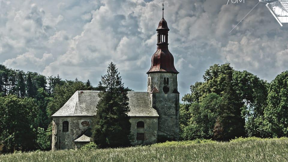 Kostel Navštívení Panny Marie v Horním Vítkově,  fото: Zdeněk Dam