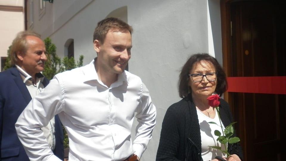Jan Huňát,  Marta Kubišová,  foto: Zdeňka Kuchyňová