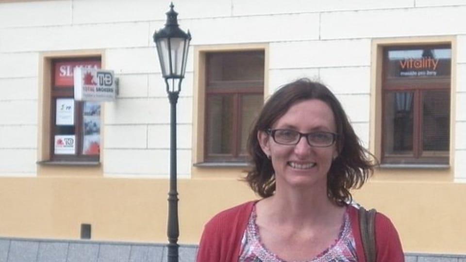 Edita Kučerová,  foto: Zdeňka Kuchyňová