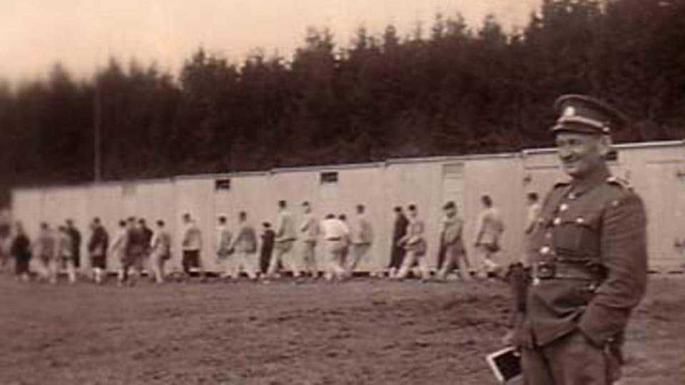 Velitel tábora v Letech u Písku Josef Janovský; zdroj: fotografie z MRK  (originál uložen v NAP)