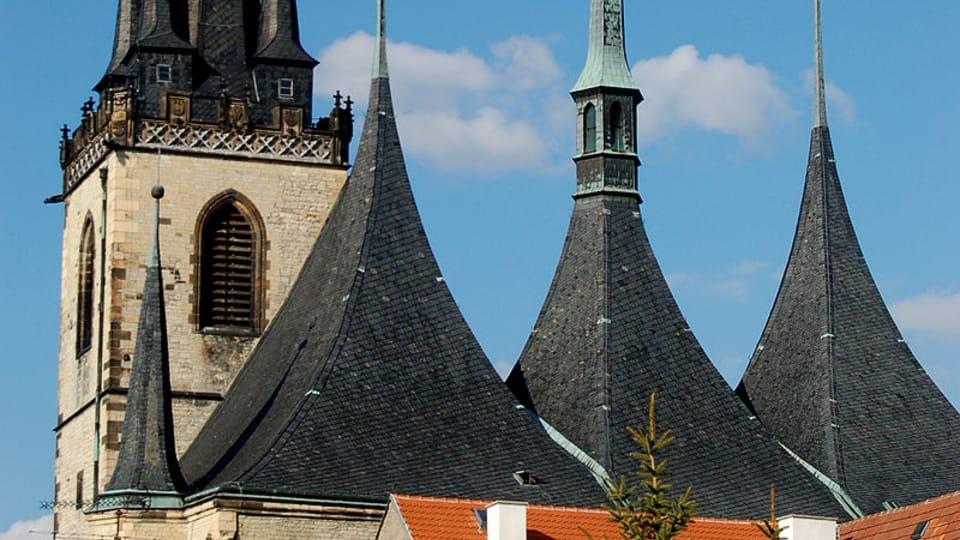 Louny,  kostel sv. Mikuláše,  foto: Martina Pauerová,  CC BY 3.0
