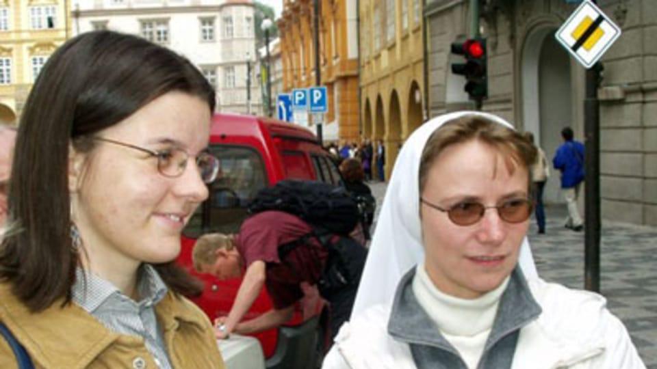 Sestra Jana z Institutu blahoslavené Panny Marie,  foto: autor