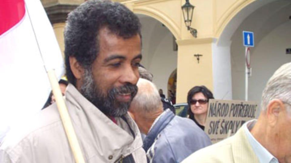 Andreán Felix,  původem z Madagaskaru,  foto: autor