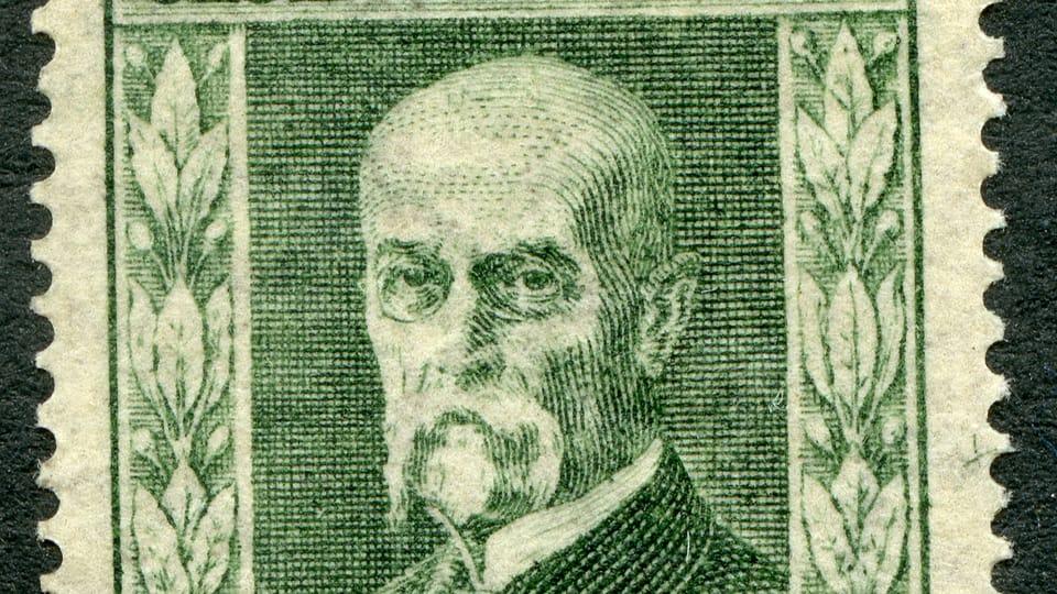 Tomáš Garrigue Masaryk,  foto: archiv Poštovního muzea