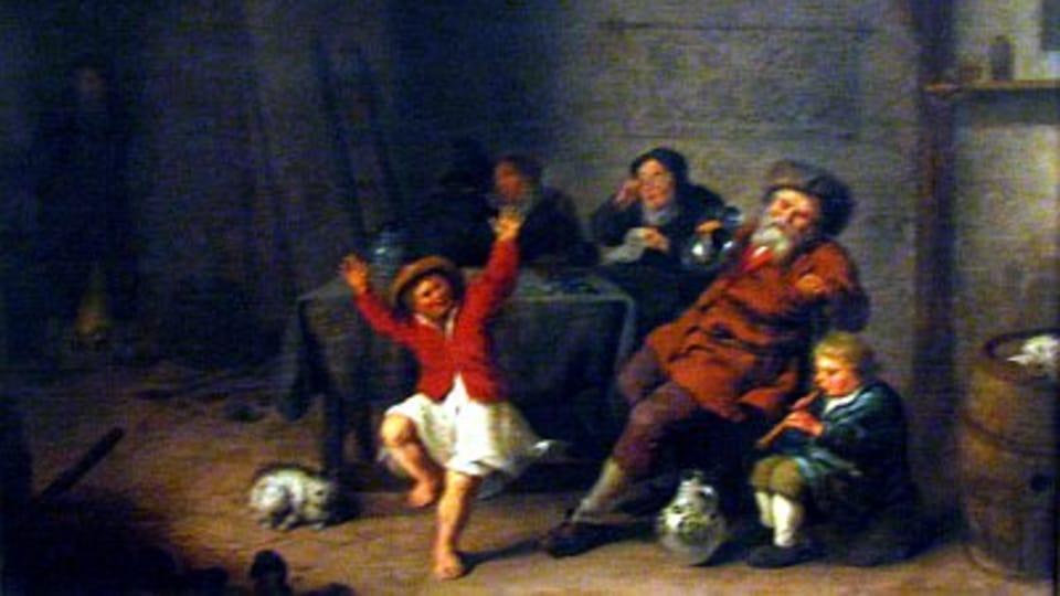 Jan Miensen Molenaer,  Jak staří zpívají,  tak mladí cvrlikají