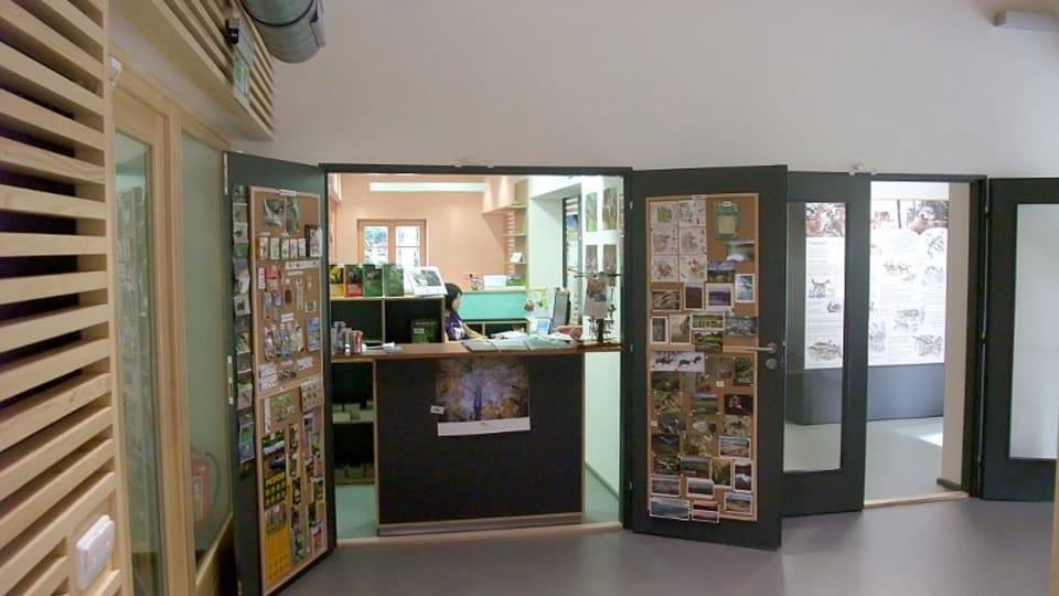 Návštěvnické centrum v Srní,  foto: Martina Bílá