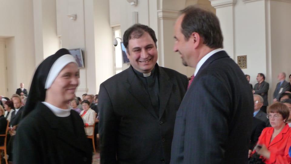 Rektor Papežské koleje Nepomucenum v Římě