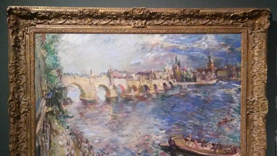 Oskar Kokoschka: Karlův most,  foto: Miroslav Krupička / Český rozhlas - Radio Praha