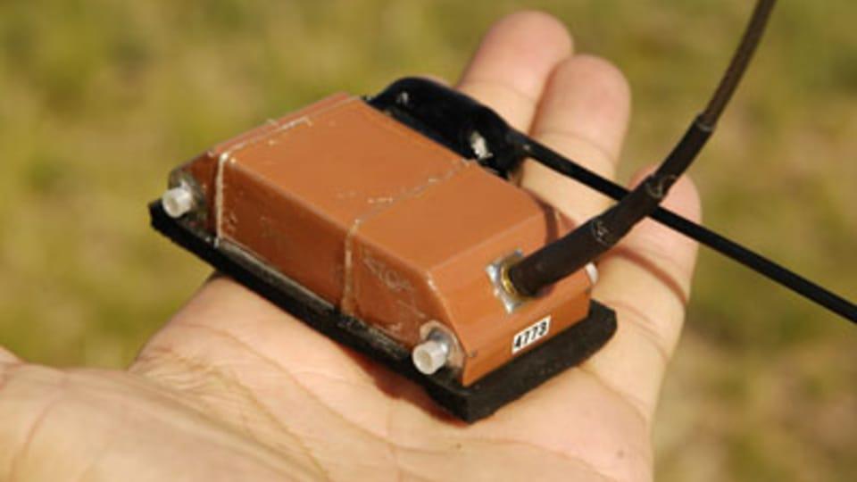 Satelitní vysílač