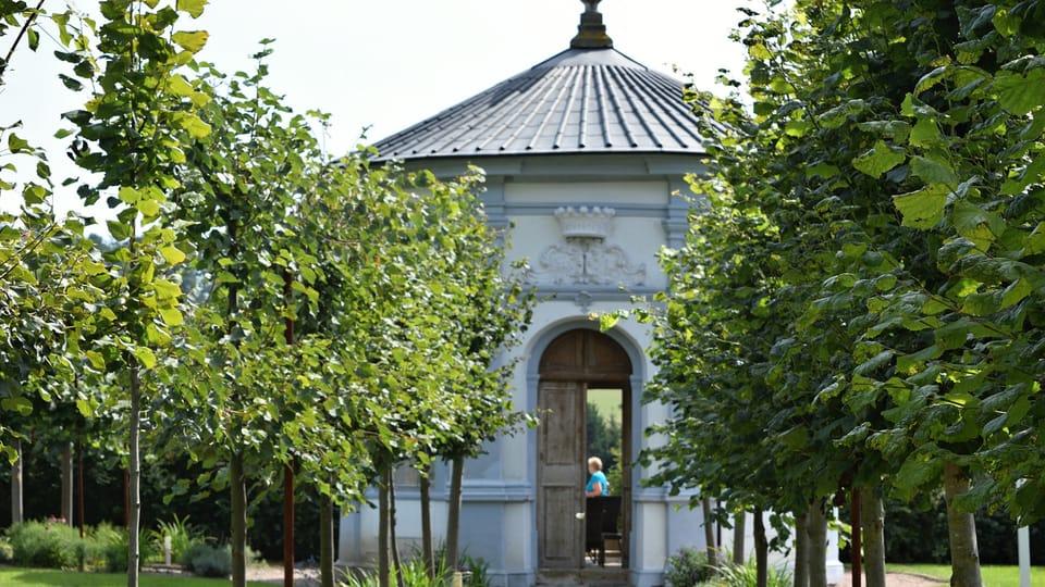 Zahradní kaple,  foto: Ondřej Tomšů