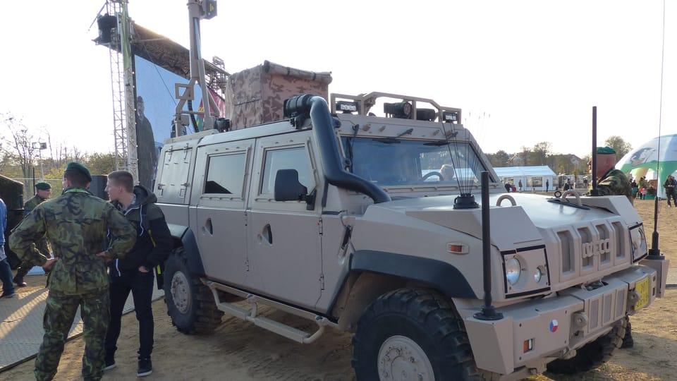 Speciální obrněná vozidla IVECO,  foto: Klára Stejskalová