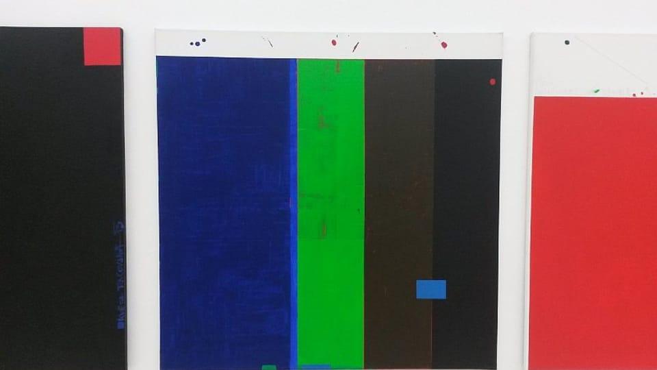 Z výstavy Maximum Contrast,  dílo Květa Pacovská,  foto: Miroslav Krupička