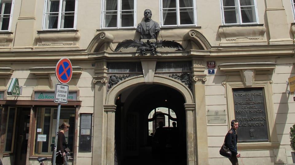 Budova Památníku Františka Palackého a Františka Ladislava Riegra,  foto: Martina Schneibergová