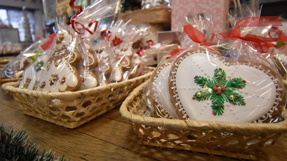 Vánoční perníčky,  foto: Ondřej Tomšů / Gingerbread Museum Prague