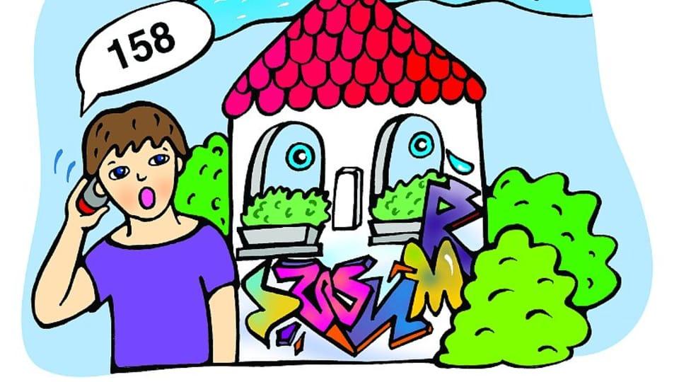 O domečku,  který plakal,  ilustrace: Šárka Nogová