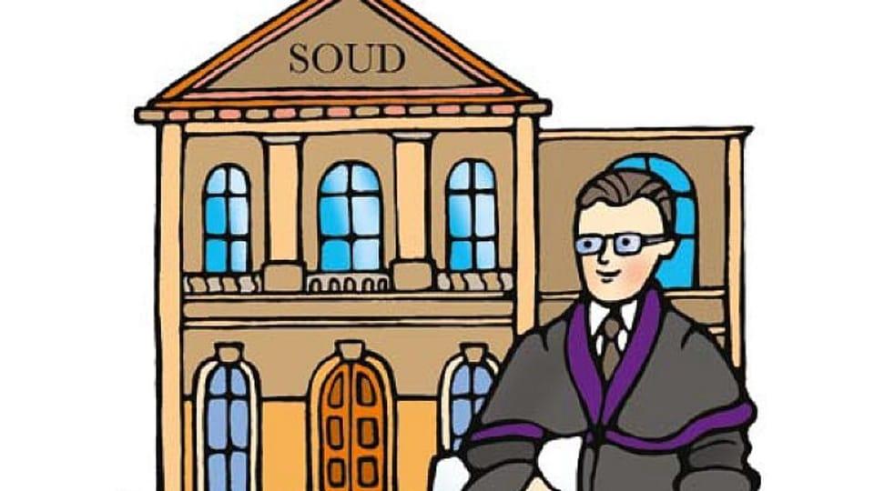 Soudce Přemysl,  ilustrace: Šárka Nogová