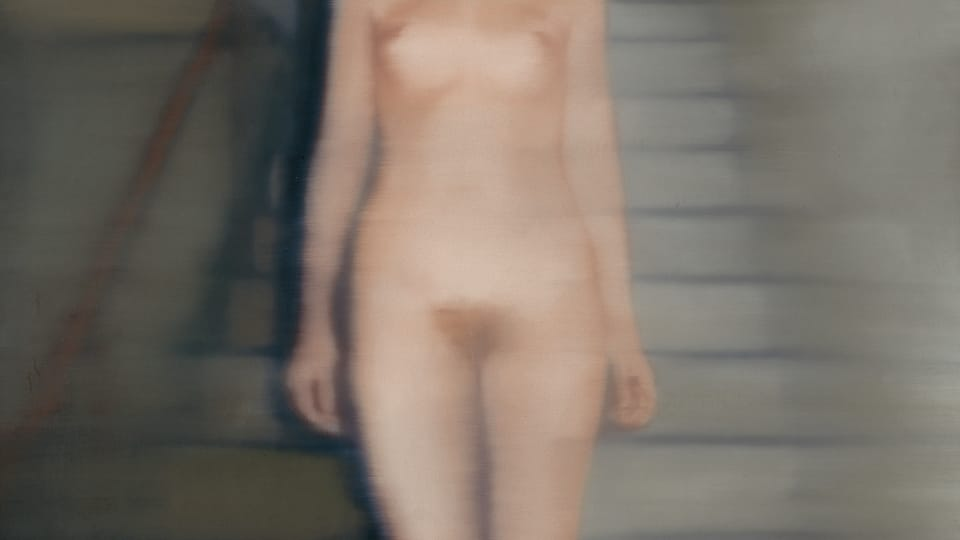 Gerhard Richter: Ema,  foto: archiv Národní galerie v Praze