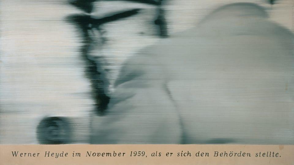 Gerhard Richter: Pan Heyde,  foto: archiv Národní galerie v Praze