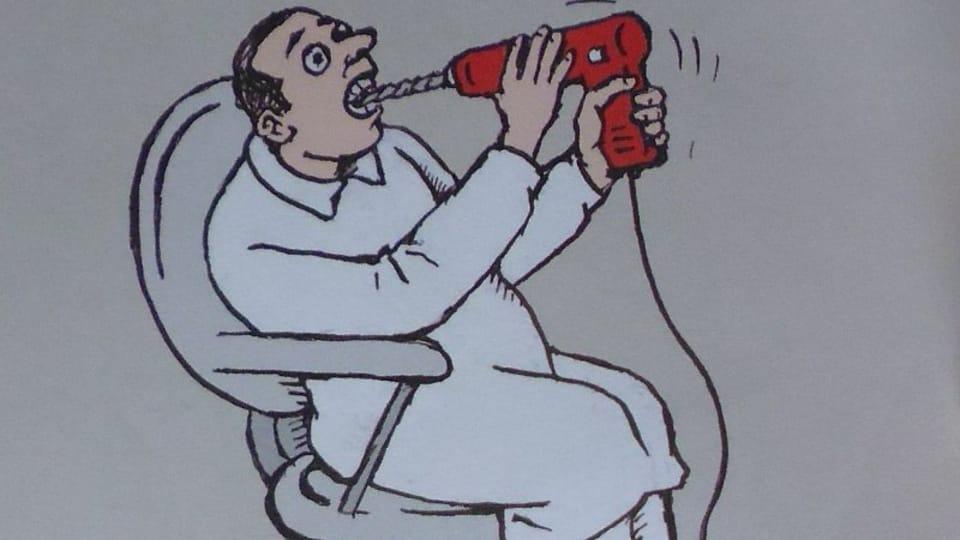 Ilustrace z knihy Rádio hlásí…,  foto: Miroslav Krupička