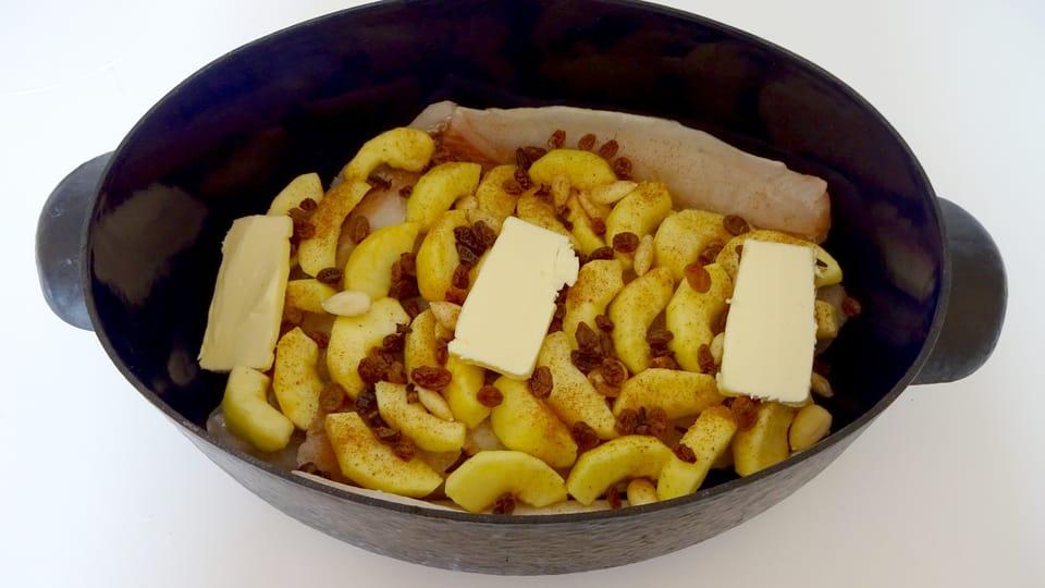 Štokfiše s jablky,  foto: Milena Štráfeldová