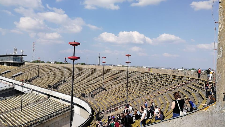 Stadion Strahov,  foto: Štěpánka Budková
