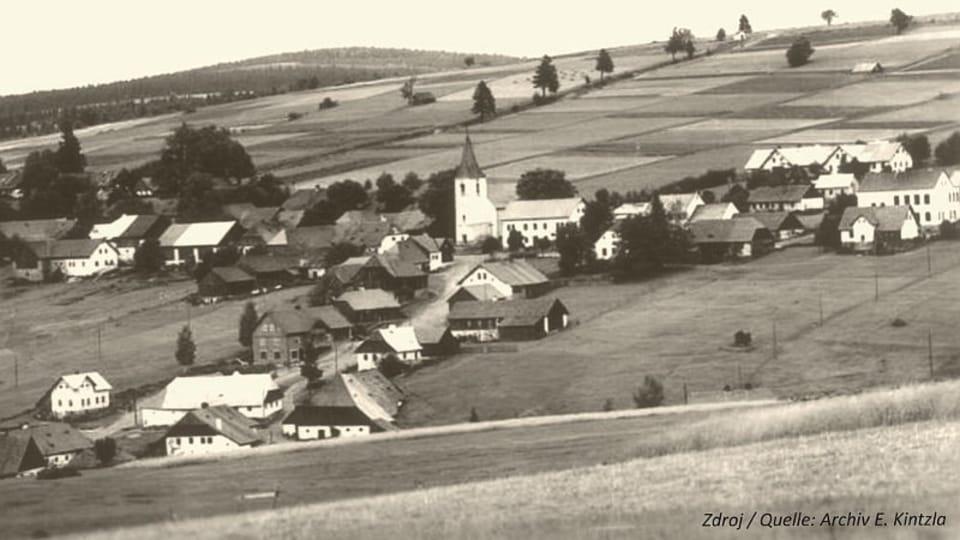 Zaniklá obec Zhůří  (Kepelské),  foto: archiv Emila Kintzla