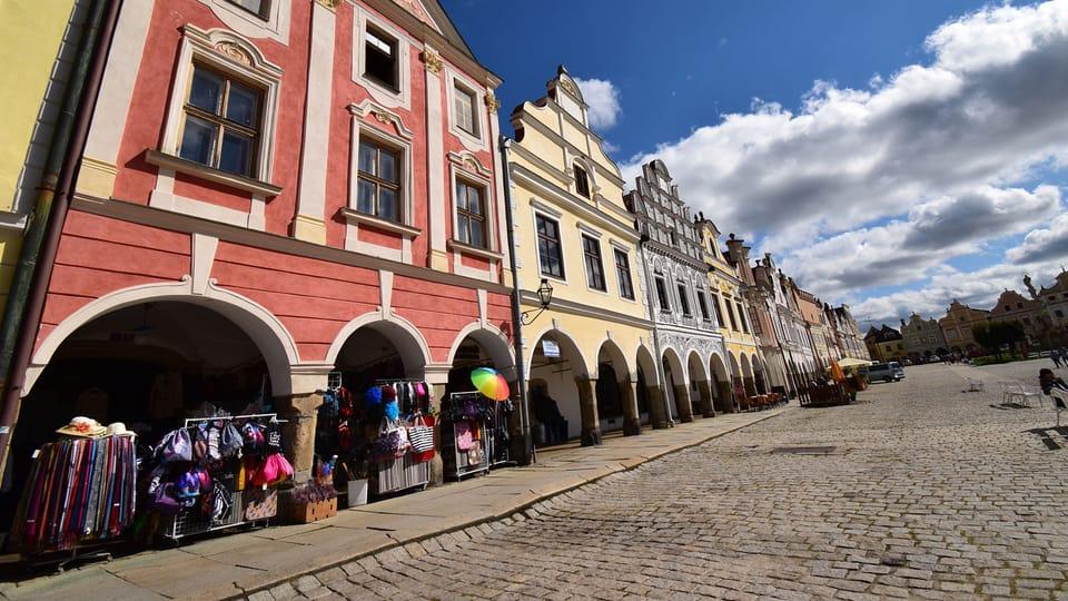 Hlavní telčské náměstí,  foto: Ondřej Tomšů
