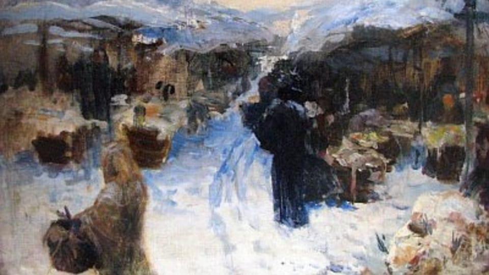 Trh v Paříži,  1897 - 1898