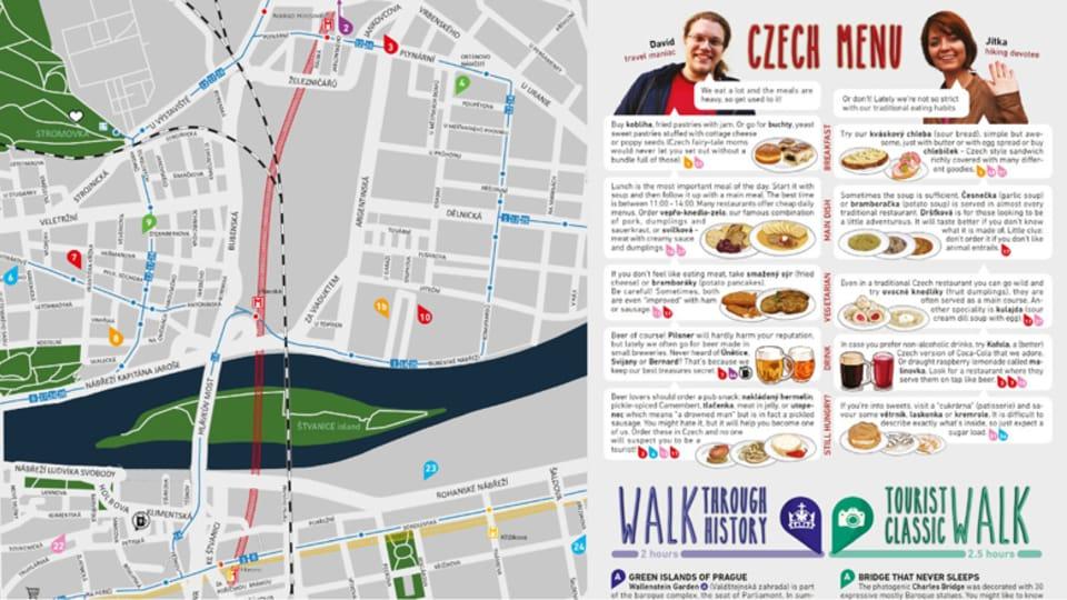 Mapa Prahy,  foto: web USE-IT