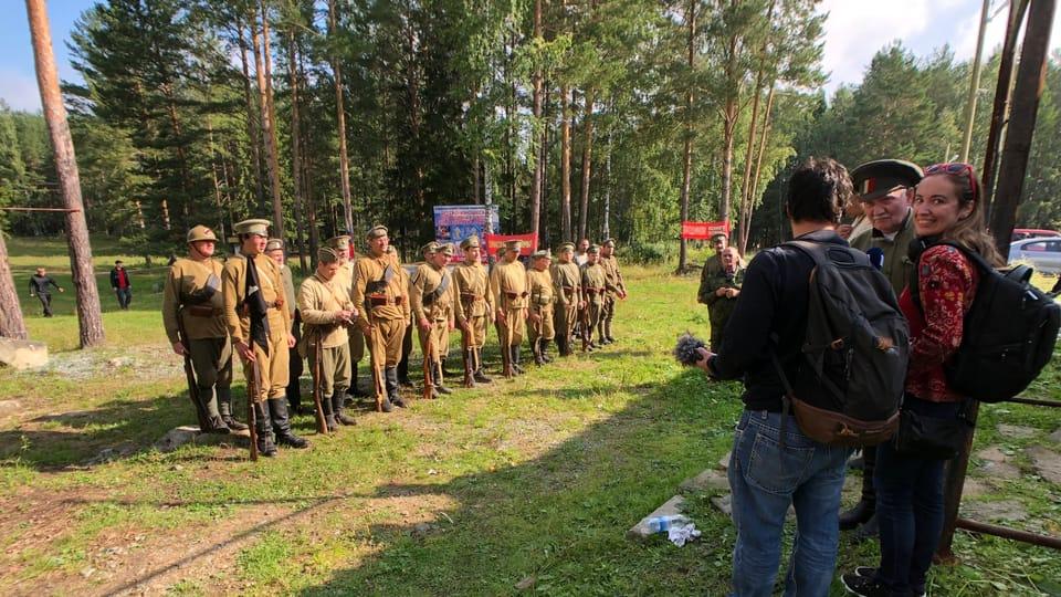 Rekonstrukce historické bitvy u jezera Tavatuy,  foto: Alexej Maximov,  ČRo