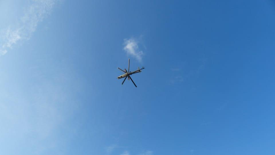 Helikoptéra,  foto: Klára Stejskalová