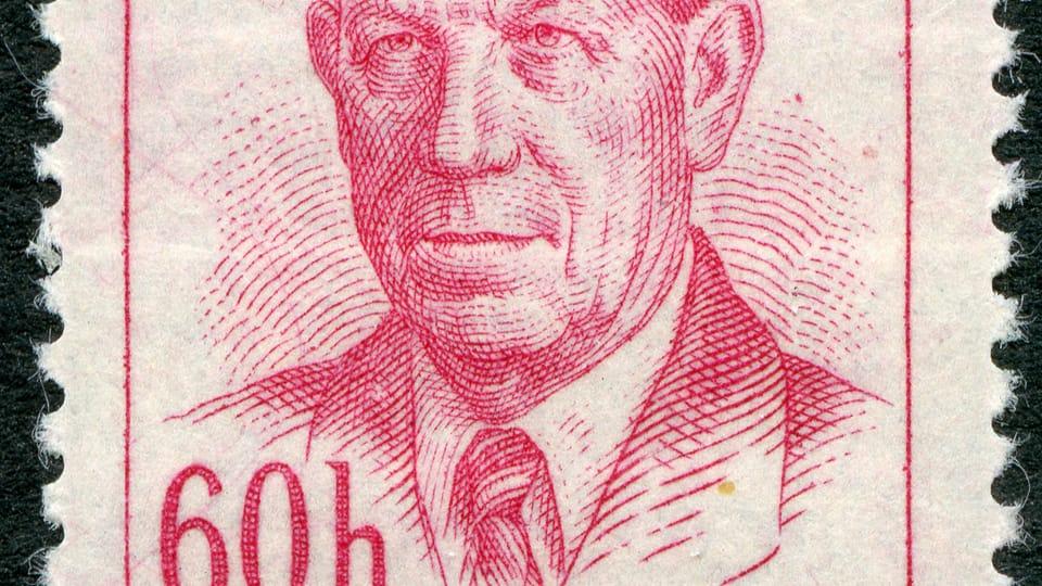 Antonín Zápotocký,  foto: archiv Poštovního muzea