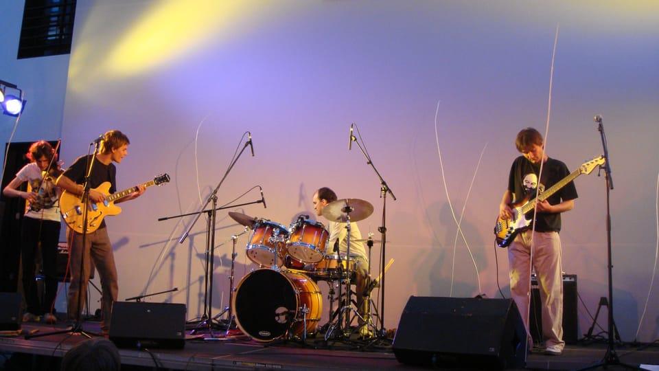 Koncert v berlínském Kleisthaus