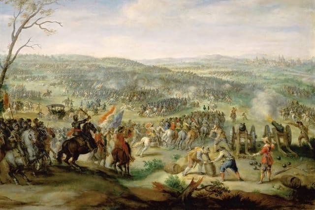 La bataille de la Montagne-Blanche