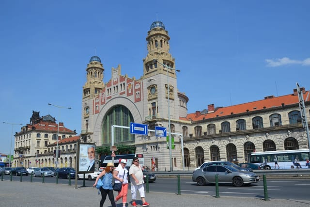 Hlavní nádraží v Praze - Fantova budova, foto: Jolana Nováková, archiv ČRo