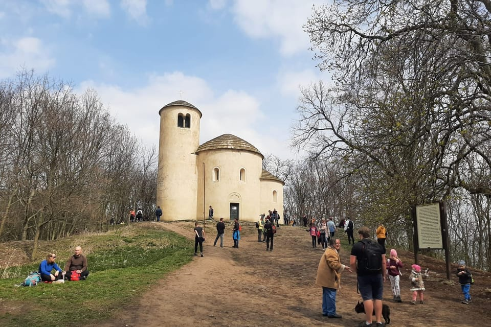 Rotunda sv. Jiří na vrcholu Řípu | Foto: Lenka Žižková,  Radio Prague International
