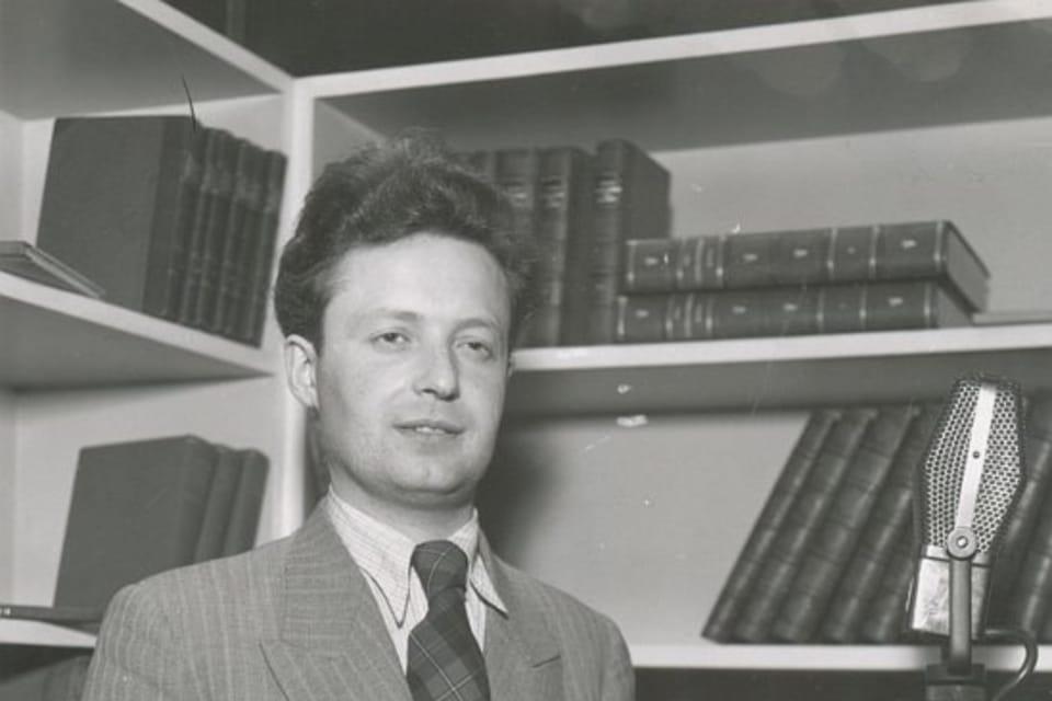 Hlasatel Ivan Zelinek | Foto: APF Český rozhlas