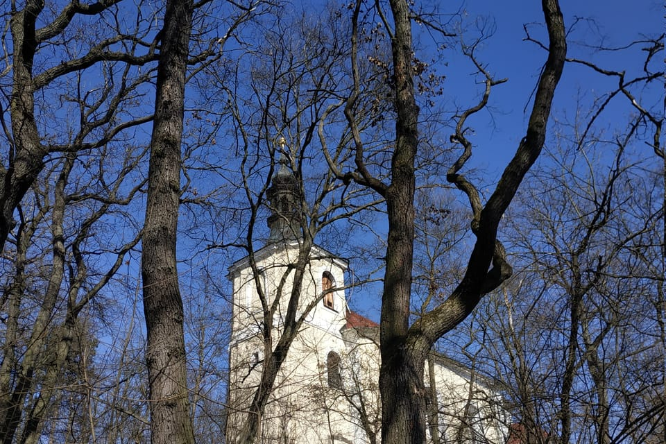 Kostel sv. Jana Nepomuckého,  foto: Bohumil Šimčík