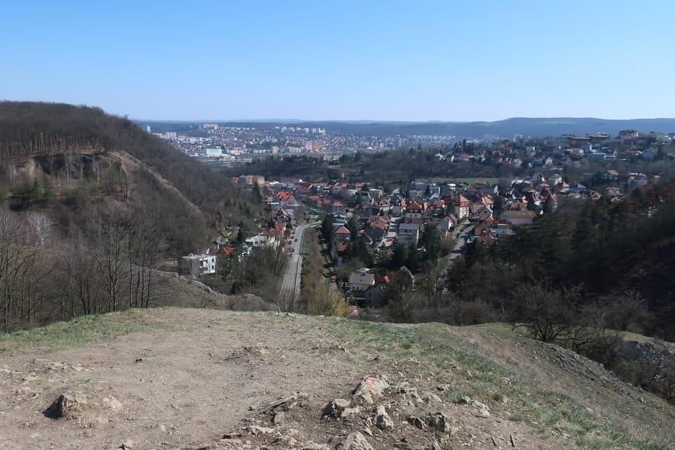 Výhled z vrchu Homolka,  foto: Štěpánka Budková
