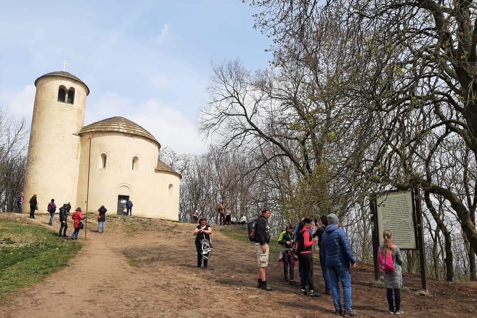 Rotunda sv Jiří na vrcholu Řípu | Foto: Lenka Žižková,  Radio Prague International