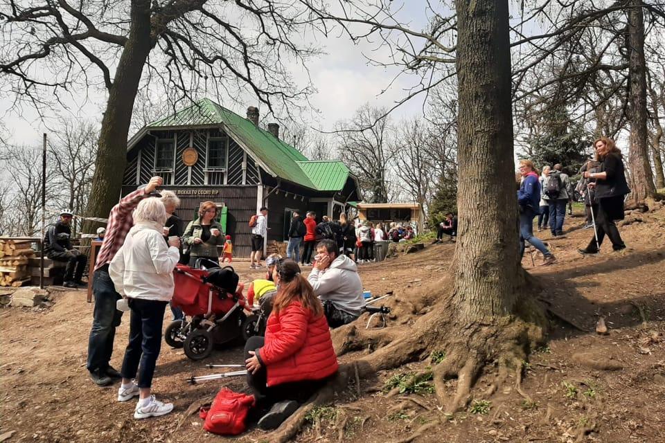 Občerstvení přijde vhod | Foto: Lenka Žižková,  Radio Prague International
