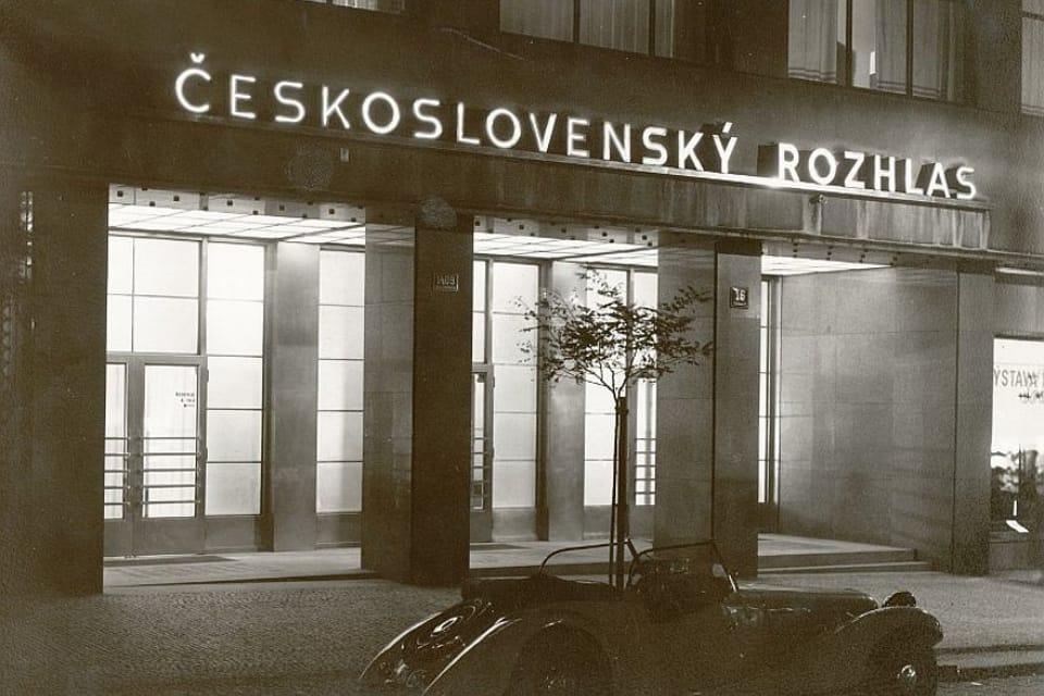 Budova Československého rozhlasu ve Vinohradské ulici v Praze  (1930) | Foto: APF Český rozhlas