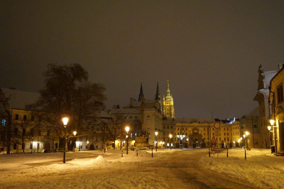Pražský hrad,  Hradčanské náměstí,  foto: archiv Radio Prague International