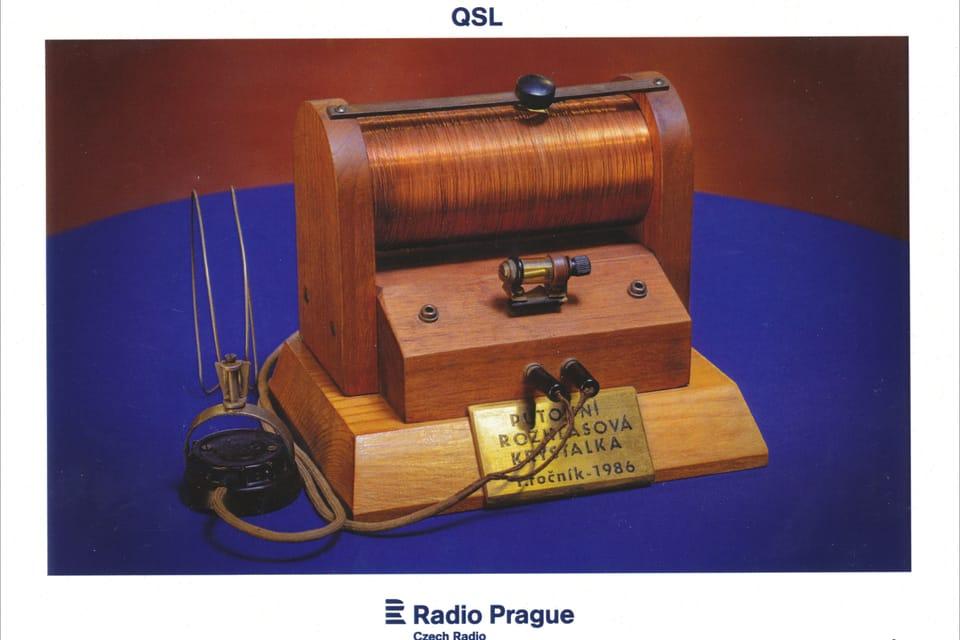 Krystalka - jeden z prvních rozhlasových přijímačů,  foto: Khalil Baalbaki
