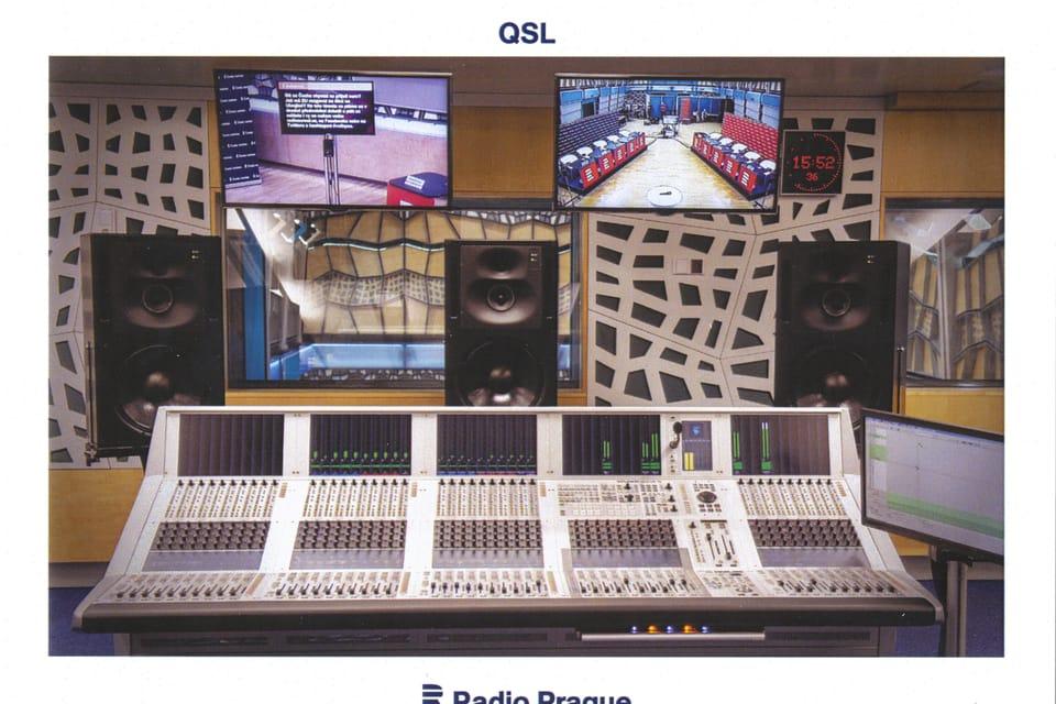 Mixážní pult Studer ve studiu S1,  foto: Khalil Baalbaki