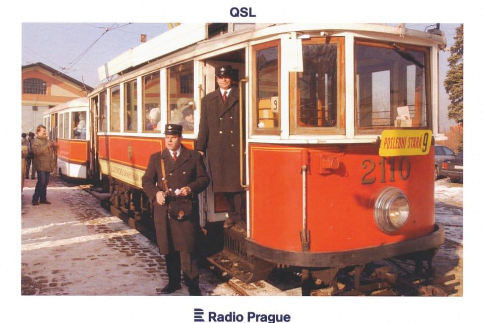 Tramvaj T2110,  foto: Stanislav Peška,  ČTK