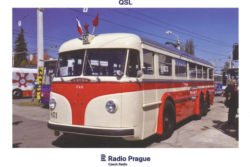 Trolejbus Tatra T-400,  foto: Rostislav Kalousek,  ČTK