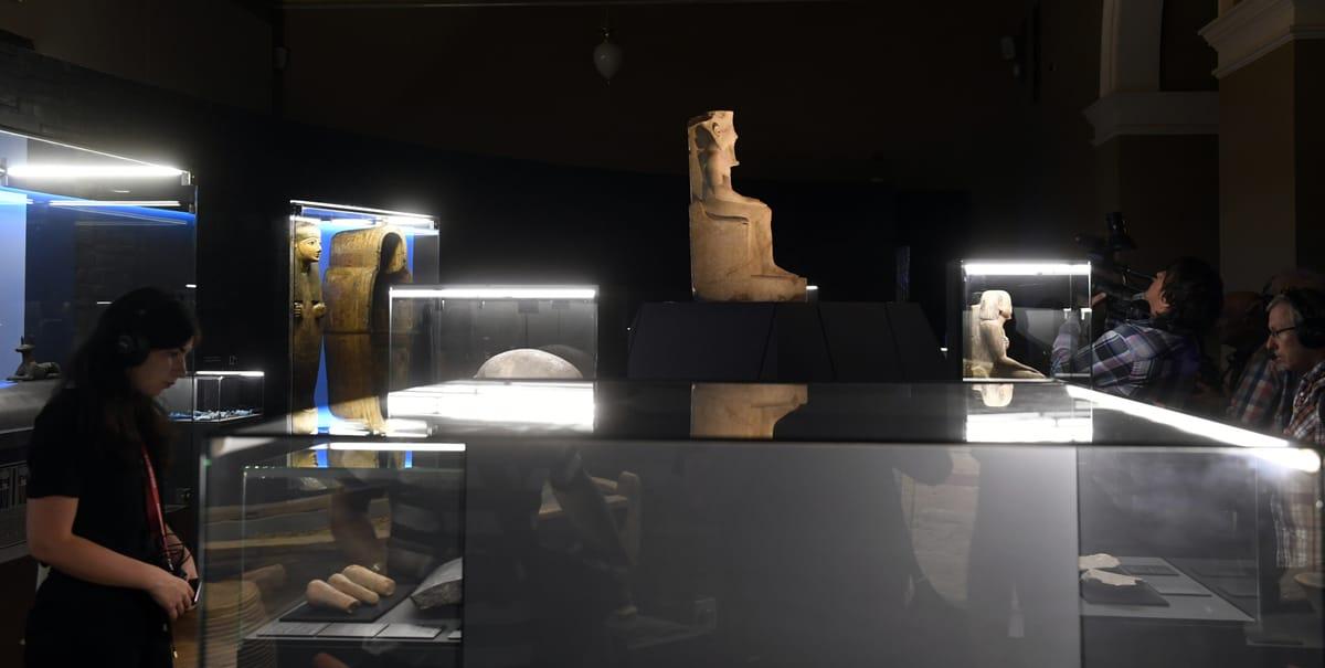 V historické budově Národního muzea se usídlil starověký Egypt | Radio  Prague International
